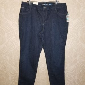 Style & Co Straight leg jeans with jewel pockets
